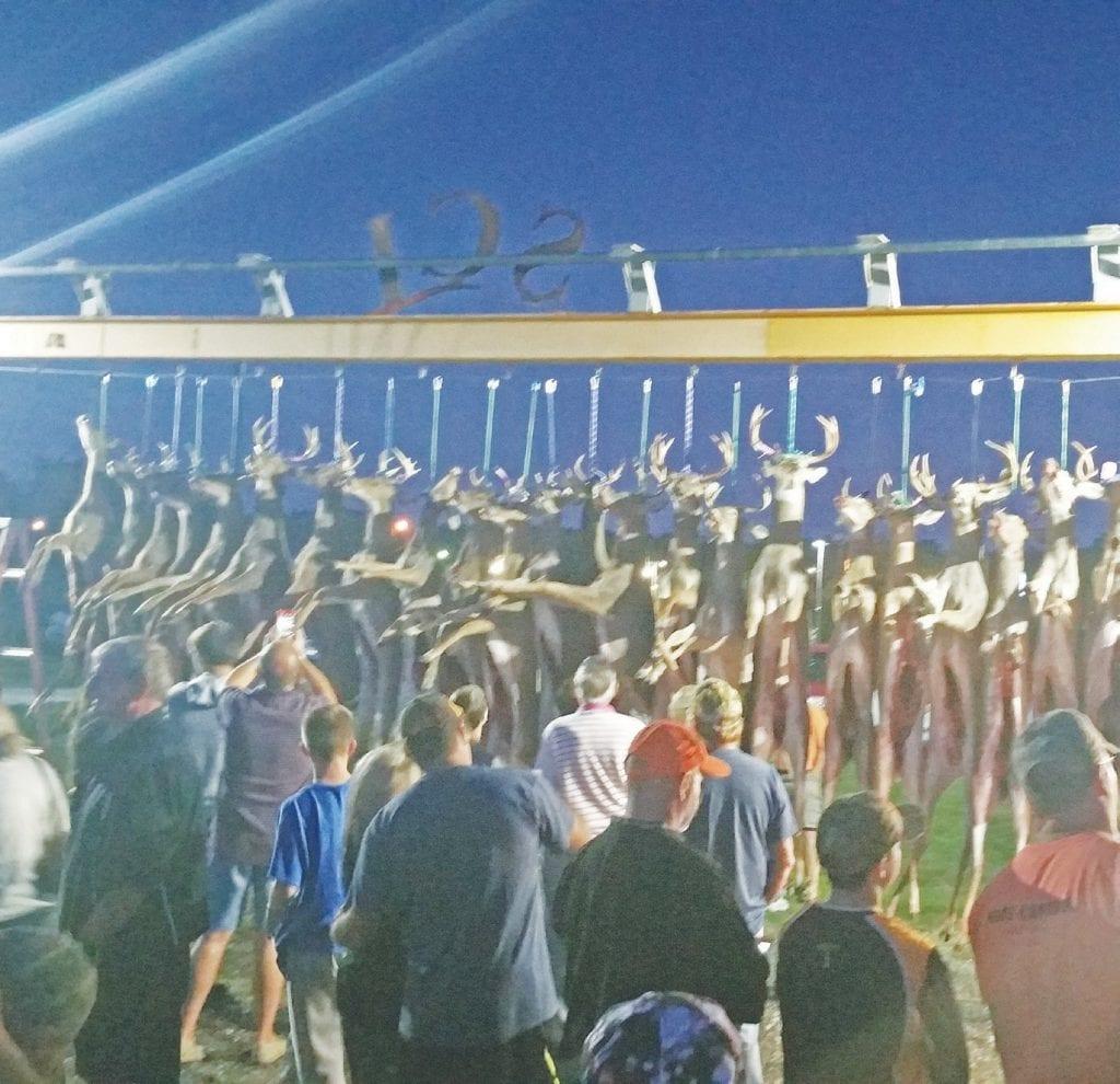 31 Bucks Entered At Davison Youth Pole Swartz Creek View